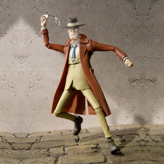 Lupin The Third - Inspector Zenigata - S.H.Figuarts