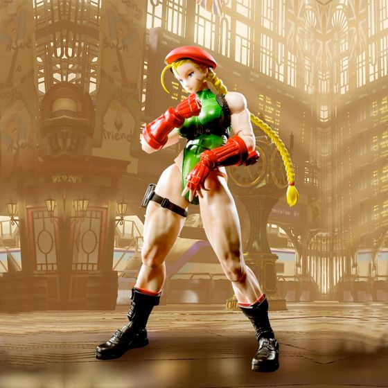 Street Fighter 5 - Cammy - S.H.Figuarts
