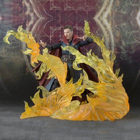 Marvel - Doctor Strange Burning Flame Set - S.H.Figuarts