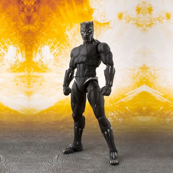 Avengers Infinity War - Black Panther Set - S.H.Figuarts