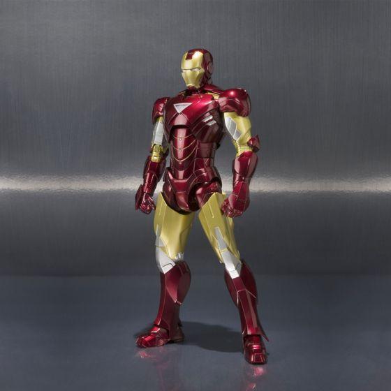 Avengers - Iron Man Mark VI Hall of Armor Set - S.H.Figuarts