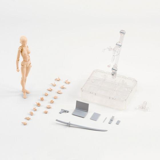 Body Chan DX Set (Pale orange Color Ver.) - S.H.Figuarts