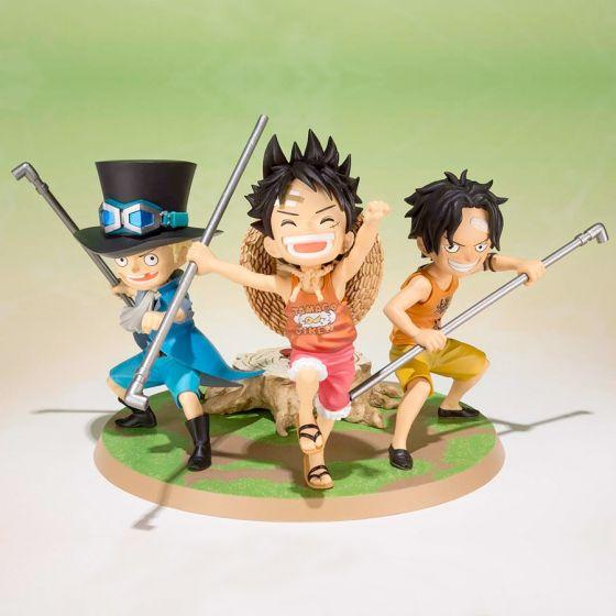 One Piece Luffy Ace Sabo -...