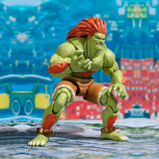Street Fighter 5 Blanka - S.H.Figuarts