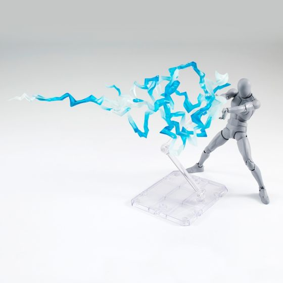 "Thunder blue ""éclairs bleus"" - Tamashii Effect"