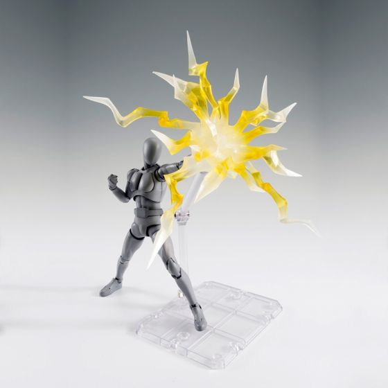 "Thunder yellow ""éclairs jaunes"" - Tamashii Effect"