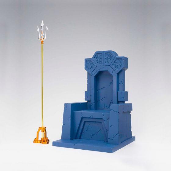 Saint Seiya - Poseidon Julian Solo Imperial Throne Set - Myth Cloth EX