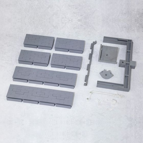 Brick Wall Grey Ver. - Tamashii Option