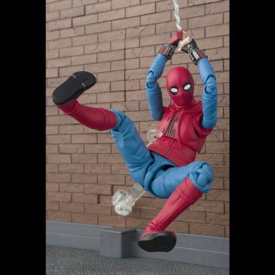 Spider-Man Home Suit + Wall - S.H.Figuarts
