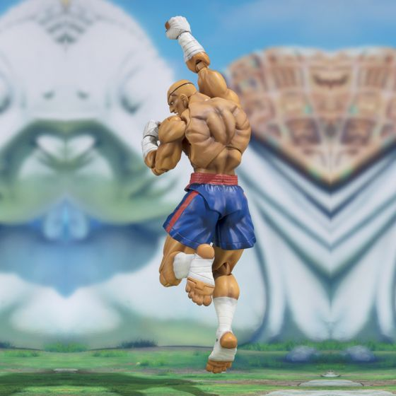 Street Fighter 5 - Sagat - S.H.Figuarts