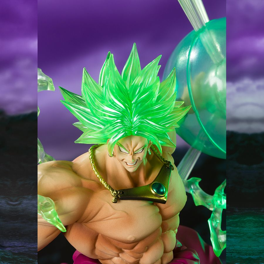 Super Saiyan Broly The Burning Battles Event Exclusive Color Edition - Figuarts Zero