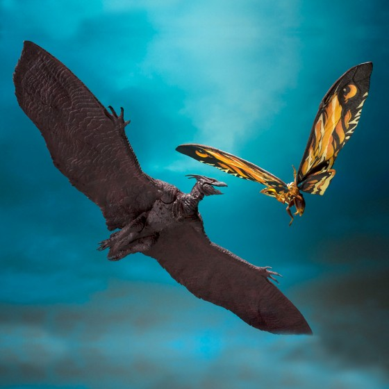 Godzilla - Mothra & Rodan Set - S.H.MonsterArts