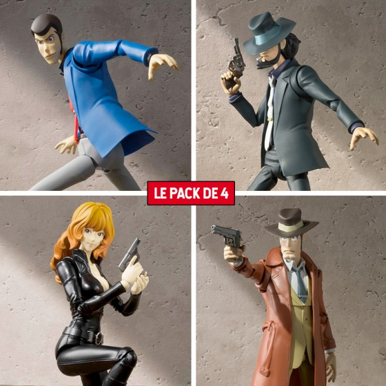 Pack x 4 Figurines Lupin...