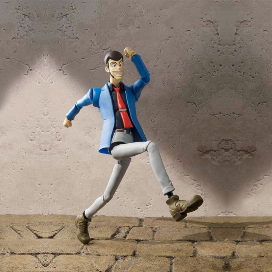 Pack x 4 Figurines Lupin III - S.H.Figuarts