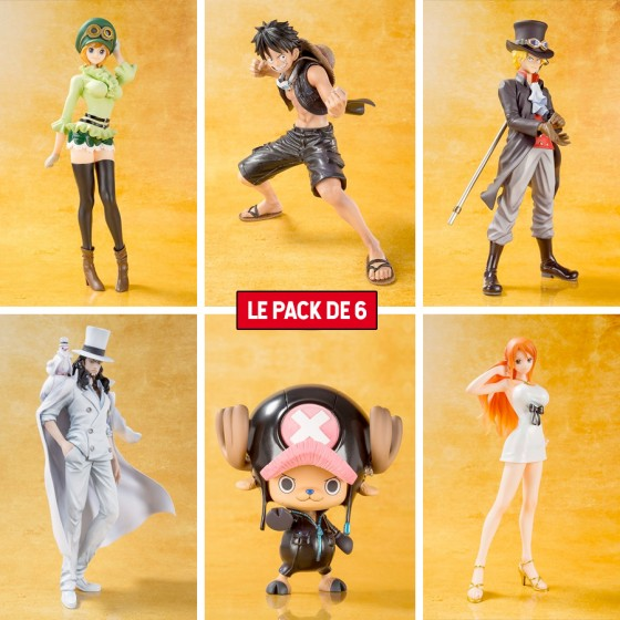 Pack X 6 Figurines One...