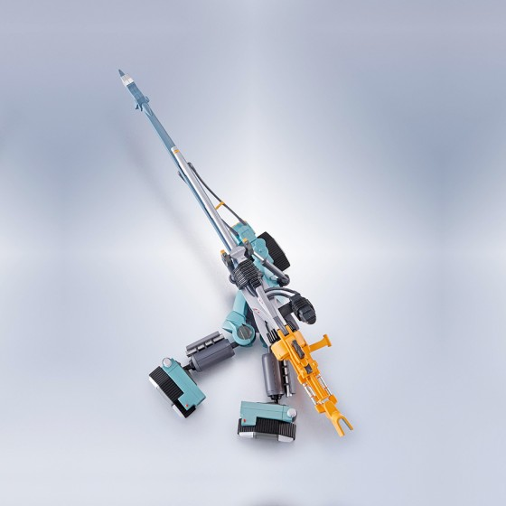 Evangelion - (Side EVA) Op. Yashima Reproduction Positron Cannon + ESV + TPG Set - The Robot Spirits
