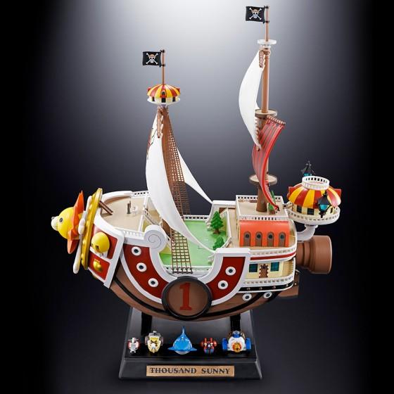 One Piece Thousand Sunny - Chogokin