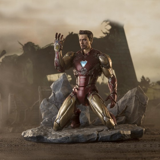 "Avengers Endgame Iron Man MK-85 ""I am Iron Man"" - S.H.Figuarts"