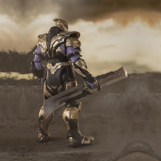 Avengers Endgame Thanos Final Battle - S.H.Figuarts