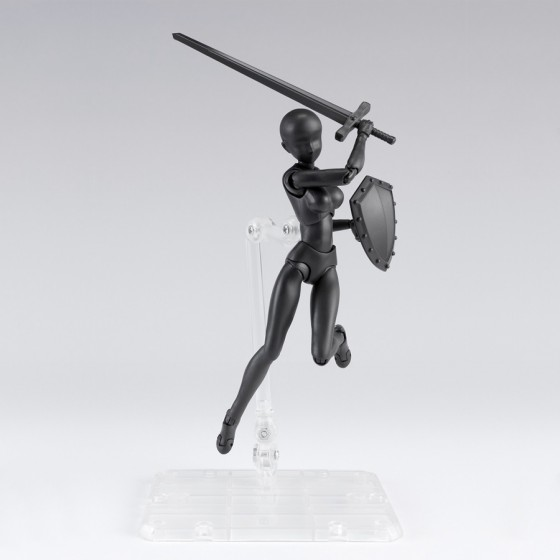 Body-Chan DX Set 2 Black Color - S.H.Figuarts