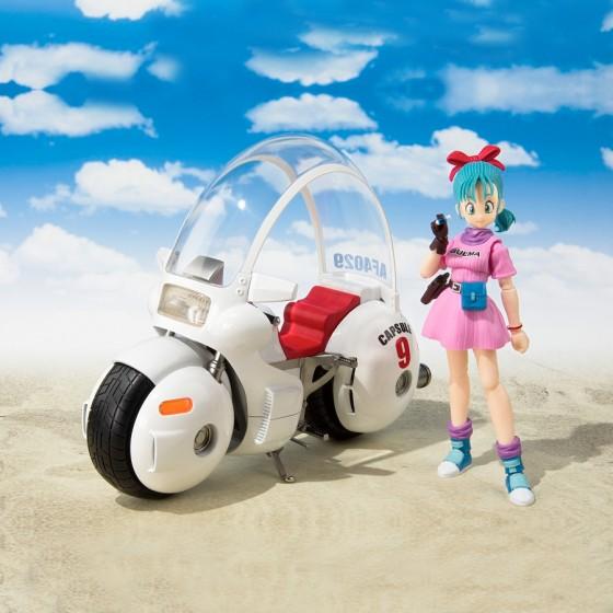 S.H.Figuarts Moto Bulma - Dragon Ball