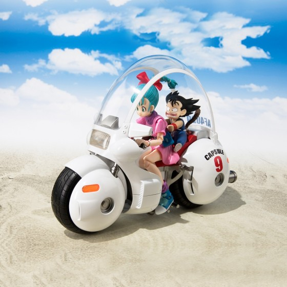Dragon Ball - Moto Bulma - S.H.Figuarts