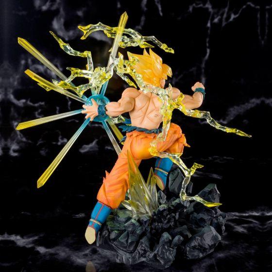 Dragon Ball Z Super Saiyan Son Goku Burning Battle - Figuarts Zero