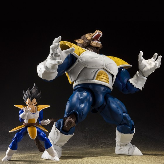 Pack 2 Figurines Dragon Ball : Great Ape Vegeta + Super Saiyan Scouter