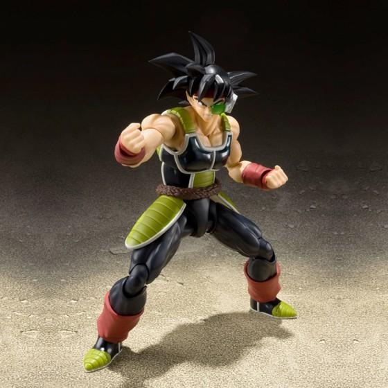 Pack Figurine + Accessoire Dragon Ball : Bardock + Super Saiyan Scouter