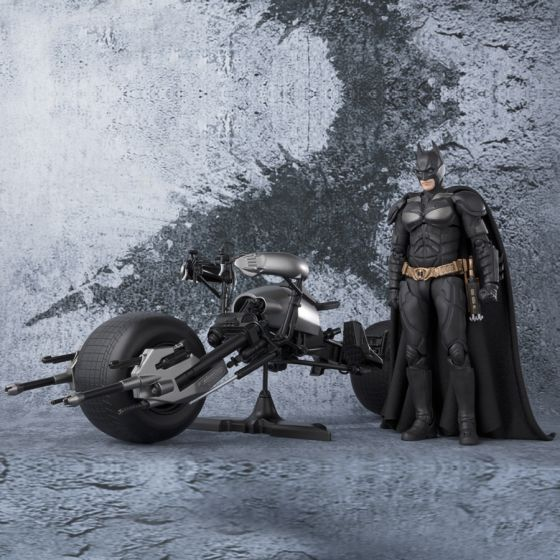 Batman The Dark Knight - Batpod - S.H.Figuarts