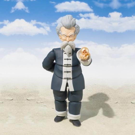Pack Figurine + Accessoire Dragon Ball : Jackie Chun + Tamashii Stage