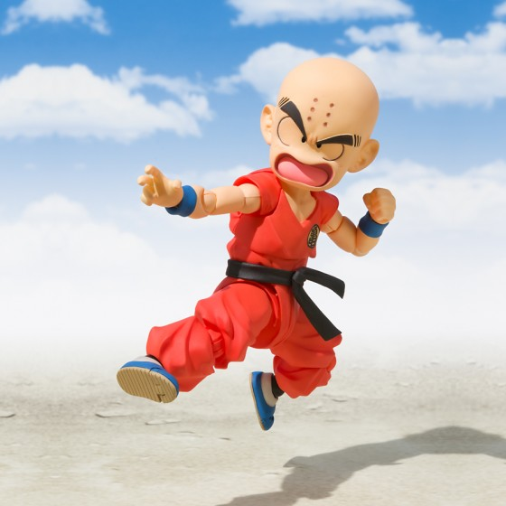 Pack Figurine + Accessoire Dragon Ball : Krillin + Tamashii Stage