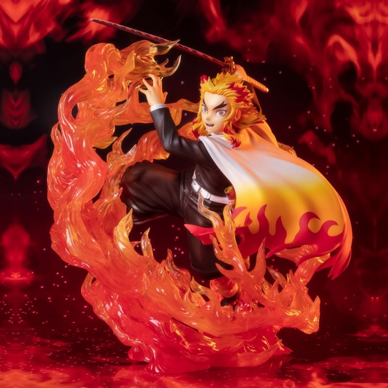 Demon Slayer - Kyojuro Rengoku Flame Breathing - Figuarts Zero