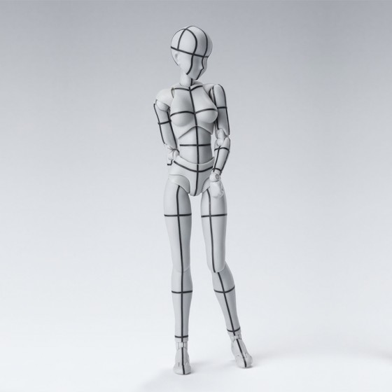 Body Chan Wireframe Gray -...