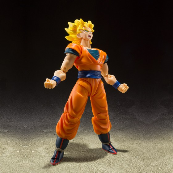 Dragon Ball Z Super Saiyan Full Power Son Goku - S.H.Figuarts