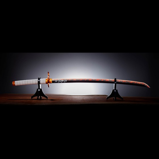 Demon Slayer Nichirin Sword (Kyojuro Rengoku) - Proplica