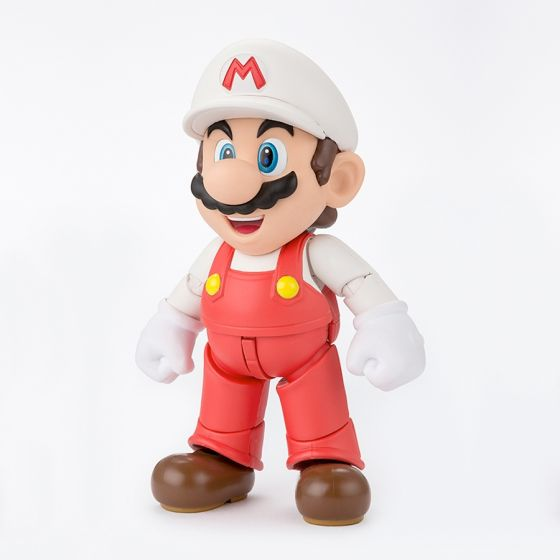 Damaged box : Super Mario Bros - Fire Mario - S.H.Figuarts
