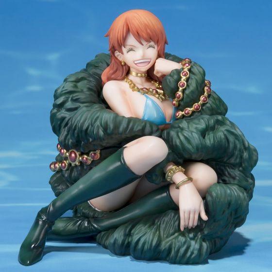 Damaged box : One Piece Nami 20th Anniversary Diorama - Figuarts Zero