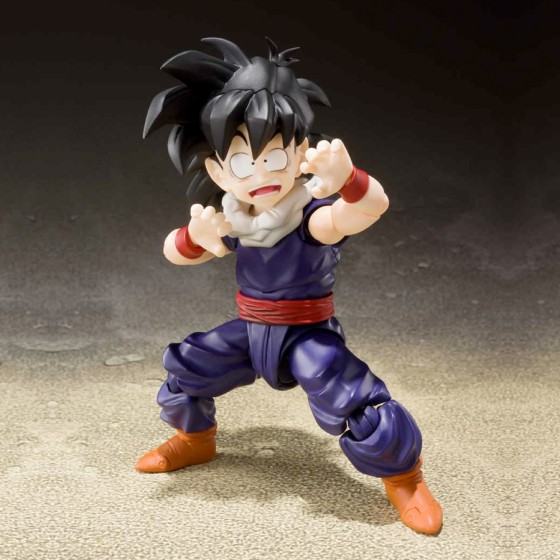 Damaged box : Dragon Ball Z Son Gohan Kid Era - S.H.Figuarts