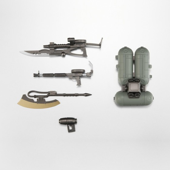 Gundam - ZAKU II Zeon Weapons Set A.N.I.M.E. - The Robot Spirits