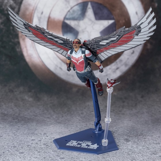 S.H.Figuarts Falcon (The Falcon and the Winter Soldier) Marvel