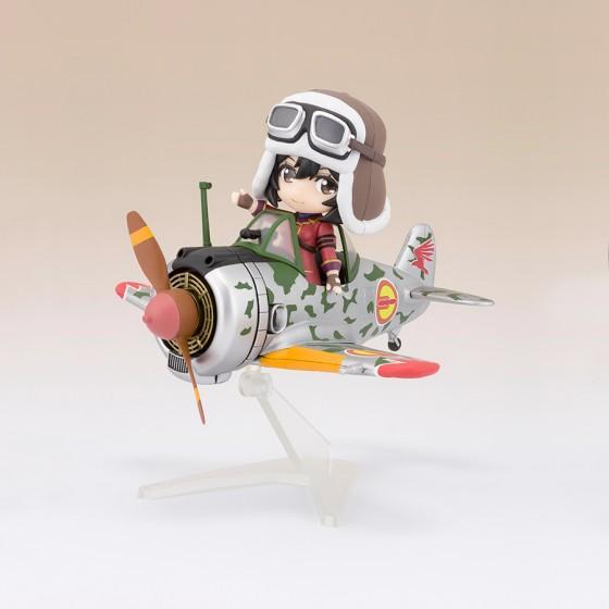 Kotobuki Squadron Kylie & Hayabusa - Figuarts Mini