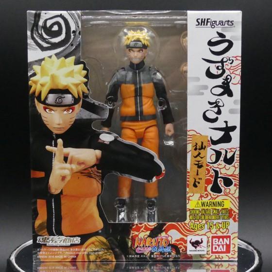 Reconditioned box : Naruto Uzumaki Sage Mode - S.H.Figuarts