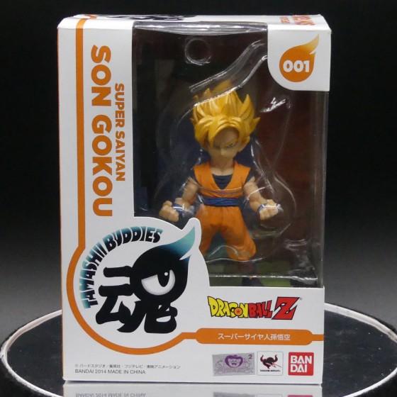 Boîte reconditionnée : Dragon Ball Z Super Saiyan Son Gokou - Tamashii Buddies