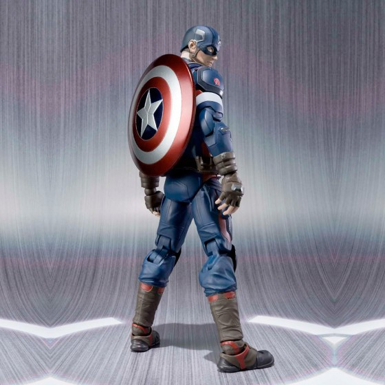 Reconditioned Box : Avengers 2 Age of Ultron - Captain America - S.H.Figuarts