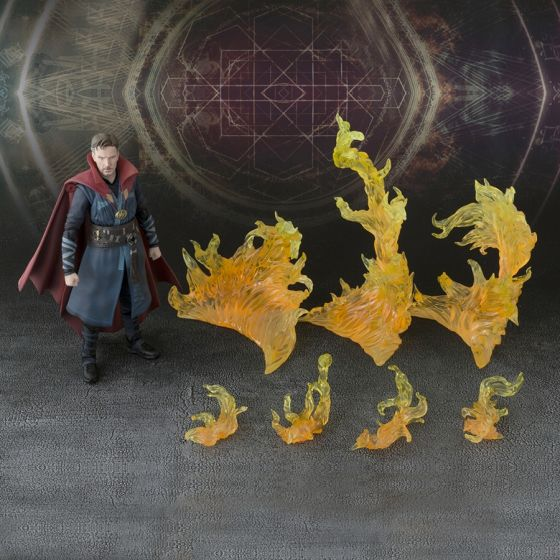 Reconditioned Box - Marvel - Doctor Strange Burning Flame Set - S.H.Figuarts