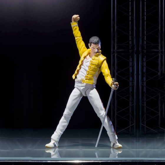 Reconditioned Box - Queen - Freddie Mercury Bohemian Rhapsody - S.H.Figuarts