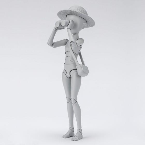 Body Chan - Ken Sugimori Edition DX SET (Gray Color Ver.) - S.H.Figuarts