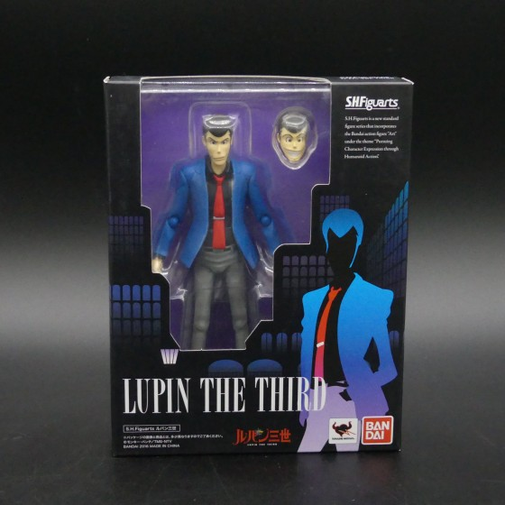 Reconditioned figure : Lupin The Third - Lupin - S.H.Figuarts