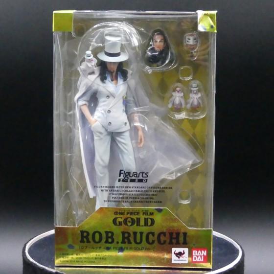 Damaged box : One Piece Gold Rob Lucci - Figuarts Zero